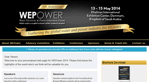 Personalised URLs for BME Global: WEPower