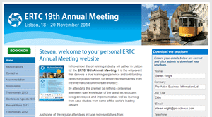 Personalised URLs for Incisive Media: ERTC