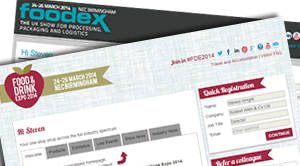 Personalised URLs for William Reed: Food & Drink Expo